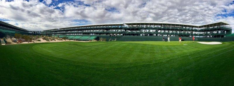 Famous 16 hole at TPC of Scottsdale Phoenix Open.jpg