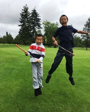 Vancouver west side Junior golf students.JPG