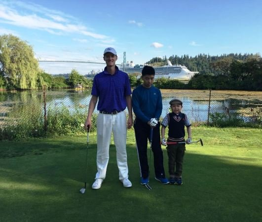 West Vancouver kids junior golf students1.JPG