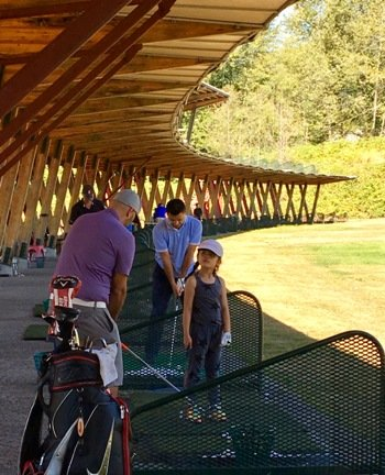 North west vancouver junior golf training