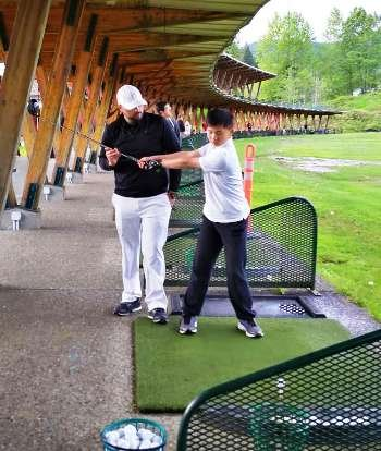 West Vancouver junior golf group lesson