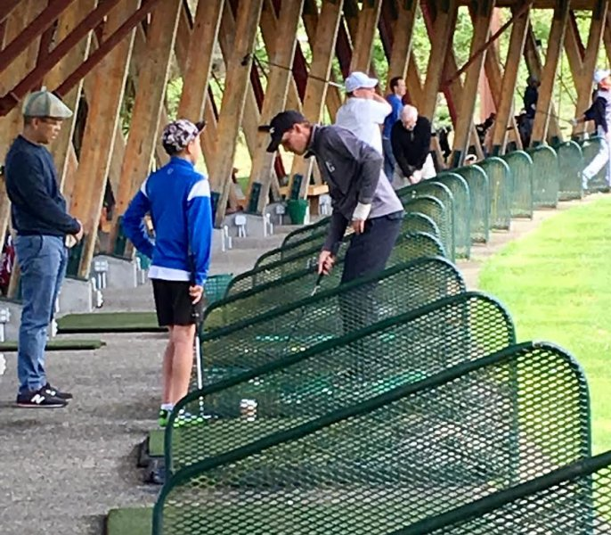 North and west vancouver Junior golf training