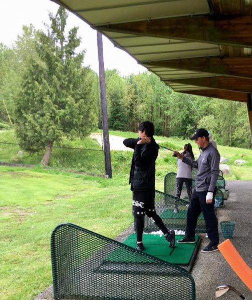 Vancouver Matt Daniel golf academy beginner golf