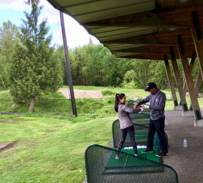 Vancouver Matt Daniel golf academy training program