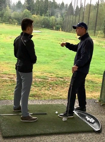 Vancouver Matt Daniel junior golf academy training program