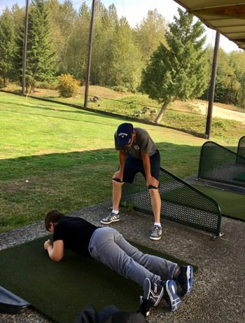 West North Vancouver Matt Daniel junior golf academy training program