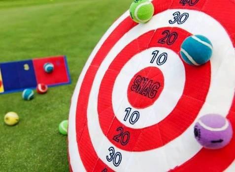 snag golf bullseye junior golf training lesson
