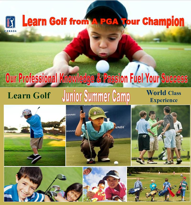 Vancouver-junior-golf-camp-training program 温哥华青少年儿童高尔夫训练夏令营