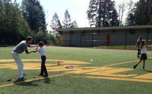 Matt Daniel golf academy Collingwood School West Vancouver junior golf in Class 西温在校青少年儿童高尔夫球培训